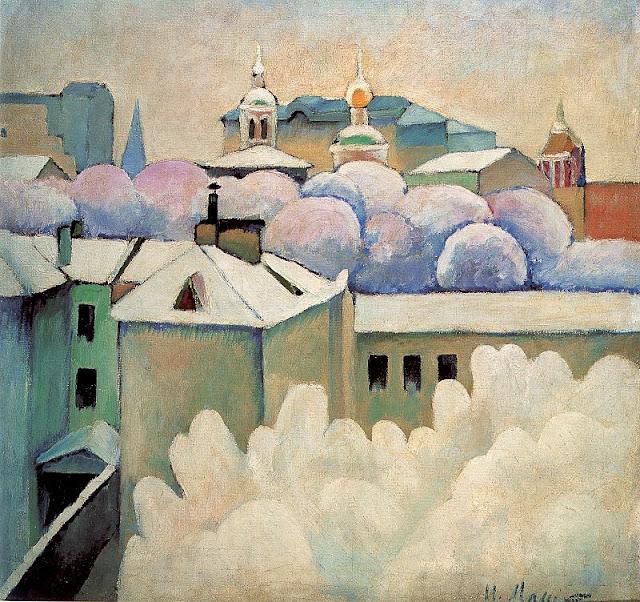 Ilya Mashkov - Winter Landscape