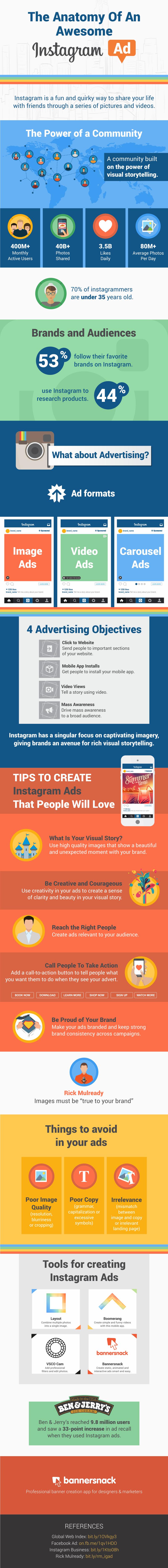 Estadísticas, consejos y herramientas para crear anuncios en Instagram que impacten