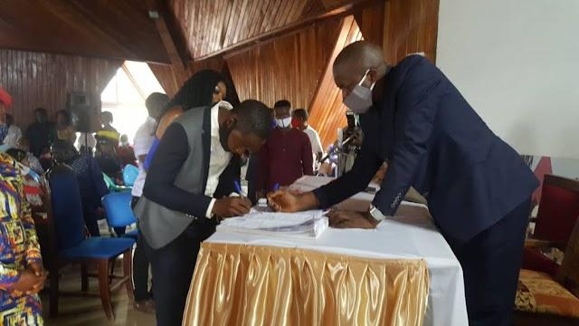 Obtaining Civil status Documents, INADES Formation sensitisation matures