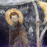 31. Fresco depicting St. Naum. The Monastery of Saint Naum. Ohrid
