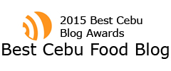 2015 Best Cebu Food Blog