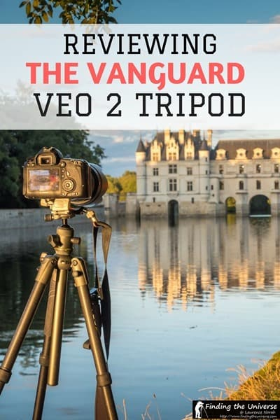 Detailed Vanguard VEO 2 265 tripod review from a travel photographer's perspective, with information on what's new in the latest line of travel tripods from Vanguard #photography #tripod #travel