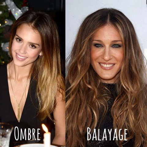 Graceful Hair Makeover Ombre Vs Balayage Hair