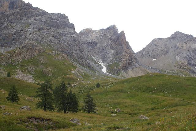 Au-dessus de Fouillouse : vallon de la Plate Lombarde, 2300 m. 3 août 2009. Photo : J.-M. Gayman