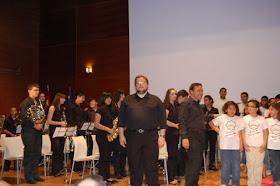 15 ANIVERSARIO del CCIV. Alumnos del Conservatorio de Música de Valencia y Coro Infaltil CCIV