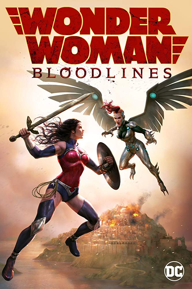 Watch Online Wonder Woman: Bloodlines 2019 720P HD x264 Free Download Via High Speed One Click Direct Single Links At WorldFree4u.Com