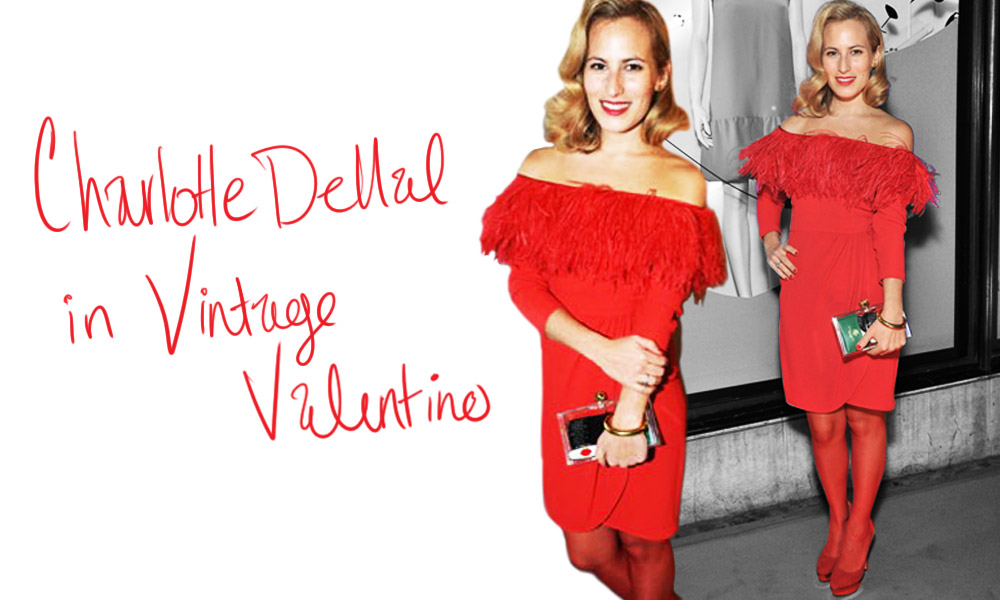 Wearing Vintage [Charlotte Dellal aka Charlotte Olympia]