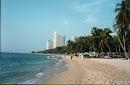 Wongamat Strand, Nord-Pattaya, 2001
