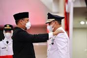 Plt.Gubernur Sulsel Lantik Bupati Lutim, Singgung Rencana Pengambil Alihan Pengelolaan Bandara Sorowako