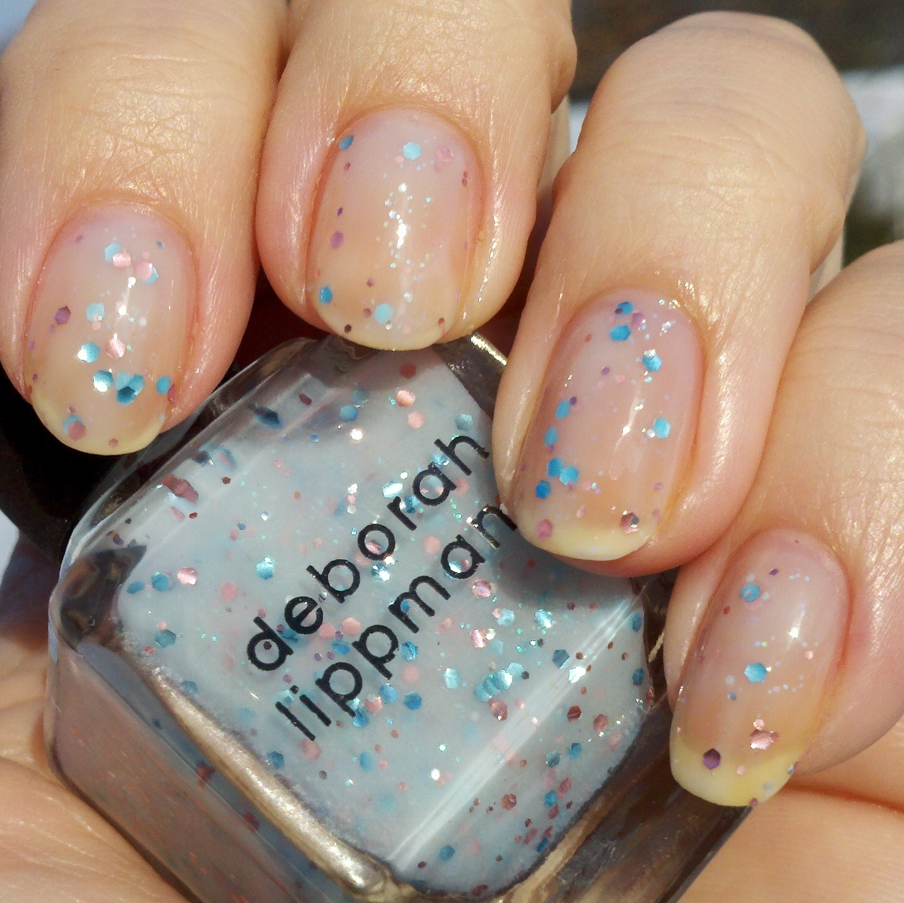 polish insomniac: Deborah Lippmann Glitter in the Air