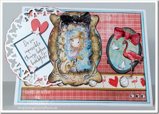 challenge 17th June with a die cut