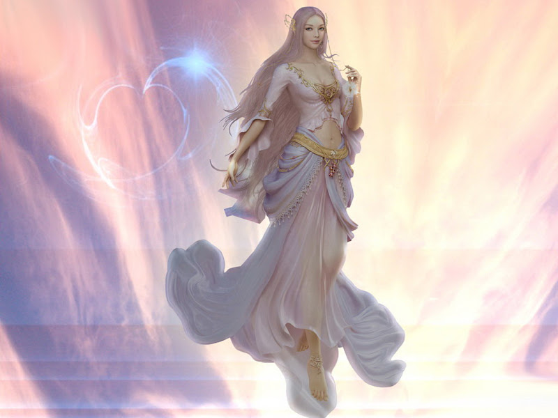 Goddess Of Holy Light, Goddesses