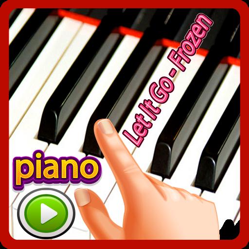 Let It Go - Frozen Piano Tap (game)