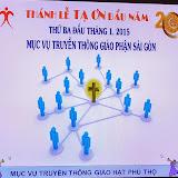 Thánh lễ đầu năm MVTT TGP Sài Gòn