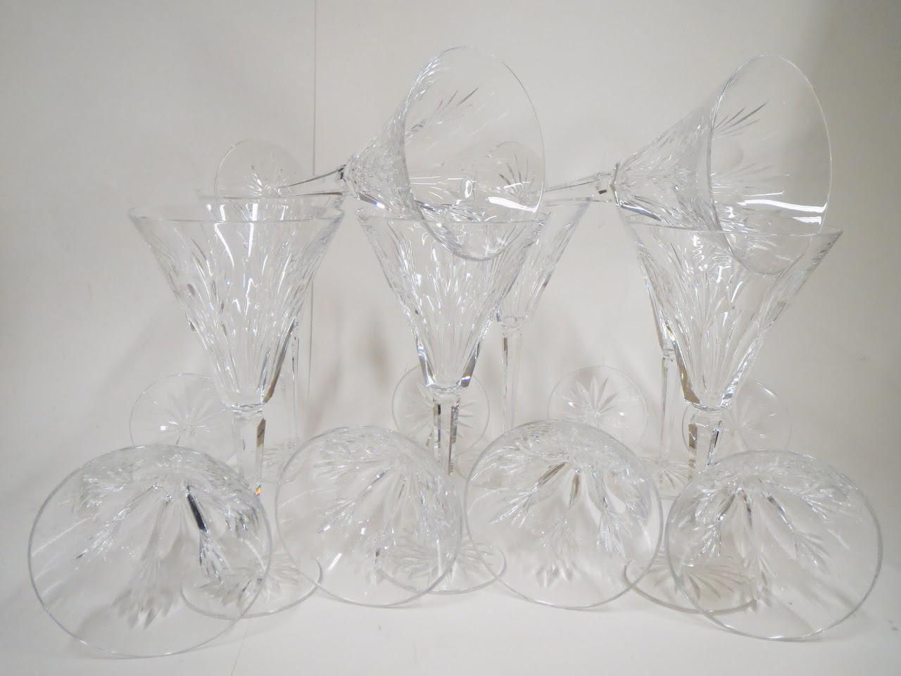 Waterford Crystal Ashleigh Stemware Set of 12