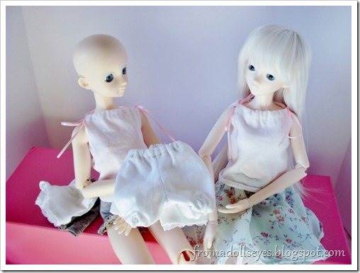 Of Bjd Fashion: Knit Shorts for Dolls: Bloomers Too