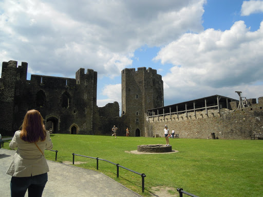 Inside Caerphilly Castle. From Best Museums in London and Beyond