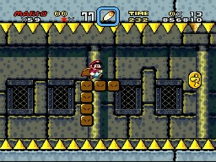 roy's castle - super mario world