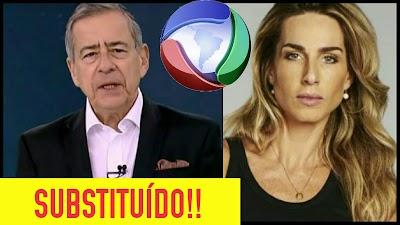 Após expulsar Paulo Henrique Amorim do Domingo Espetacular, Record define a nova apresentadora do programa. Veja!