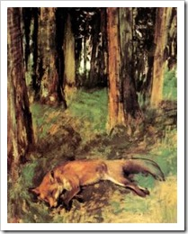 degas the dead fox