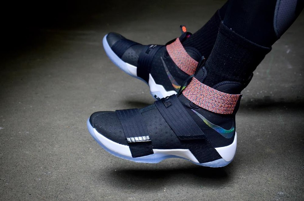 finest selection 56241 e01e6 ... Nike LeBron Soldier 10 OnFoot Beauty Shots ...
