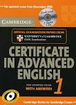 Download Cambridge Certificate in Advanced English 1 - 6 (PDF + Audio)