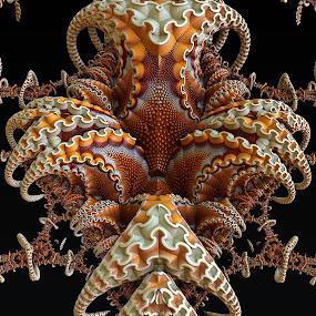 MB3D - 714 by Siniša Dalenjak - Illustration Abstract & Patterns ( mandelbulb, 3d, fractal )