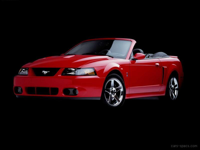 1999 ford mustang svt cobra convertible specifications. Black Bedroom Furniture Sets. Home Design Ideas