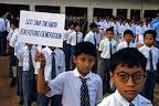 Jour pour la Paix, dans ue école de Kathmandu