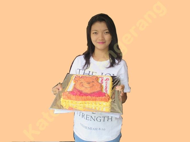 Kue ulang tahun Binong