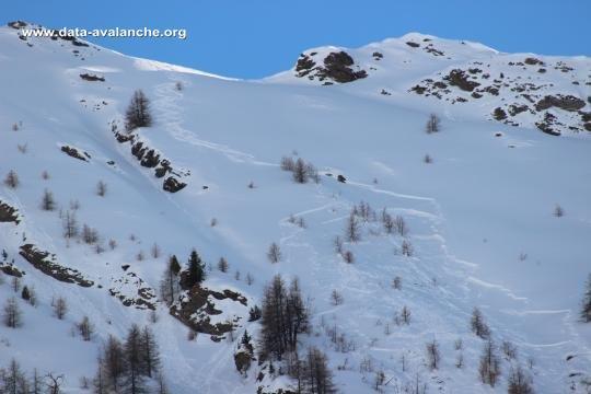 Avalanche Queyras, secteur St Véran, Combe de Crose - Photo 1