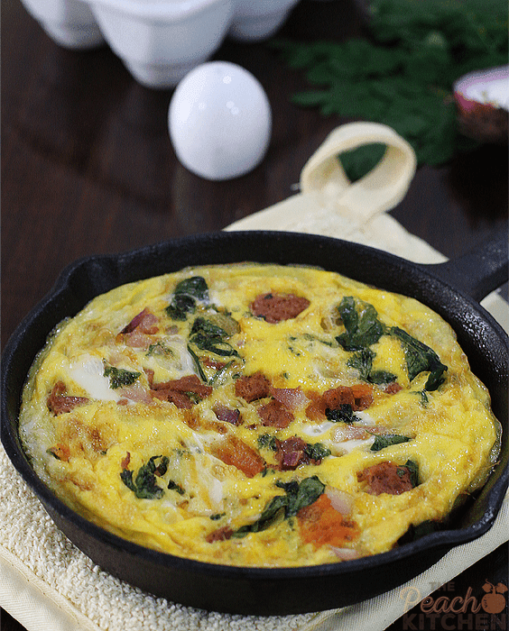 Sausage and Malunggay Fritata + King Sue Giveaway