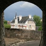 Château : passage voûté
