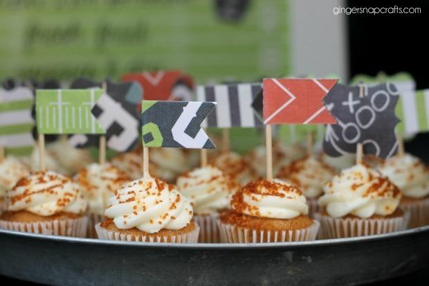 tailgate cupcakes