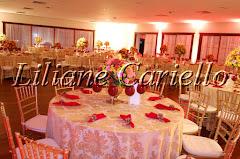 Fotos de decoração de casamento de Casamento Maryanna e Jammil no Clube Caiçaras da decoradora e cerimonialista de casamento Liliane Cariello que atua no Rio de Janeiro e Niterói, RJ.
