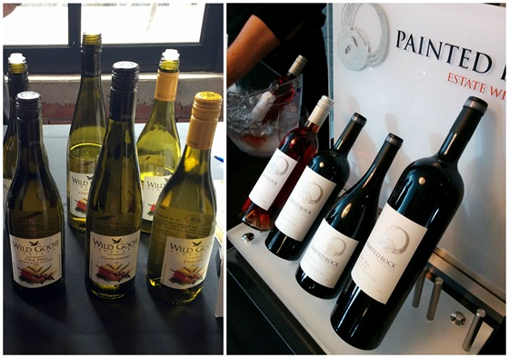 Brand new whites from Wild Goose and great big reds from Painted Rock