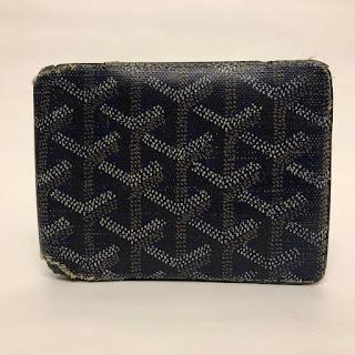 Goyard Leather Wallet