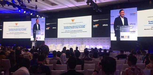 Di Depan Investor Luhut Akui Kasus Meikarta Sangat Menyakitkan Bagi Indonesia