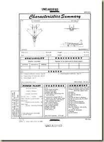 TF-15A Phantom II Standard Aircraft Characteristics 1