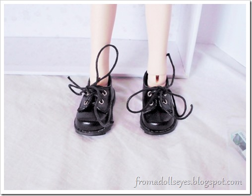 Bjd shoe haul for Alice's Collections.  SH007 msd sized shoes in black.