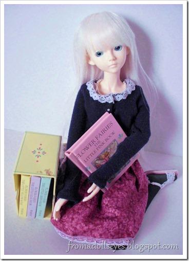 Tiny books for dolls.