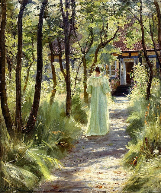 Peder Severin Krøyer - Marie in the Garden