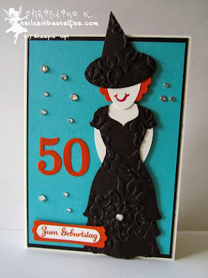 stampin up, punch art, witch, hexe, birthday, geburtstag, express yourself, in worte gefasst, dress up