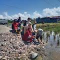 Kantor KPRI Koperasi Bakti Guru SD Segera Dibangun,Ketua H. Sirajuddin Hairi Letakkan Batu Pertama