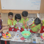 Healthy Fruit Salad Day Celebrated by Playgroup Morning Section at Witty World, Chikoowadi(2017-18)