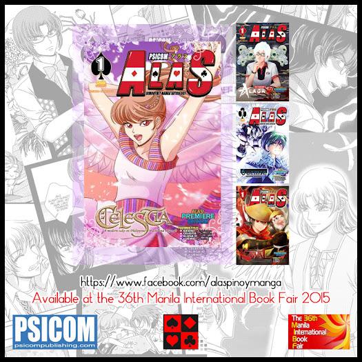psicom's alas bimonthly manga anthology - spade variant - kurohiko's celestia