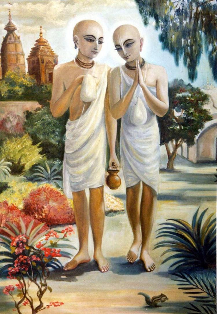 Disapperance day of Srila Sanatana Goswami