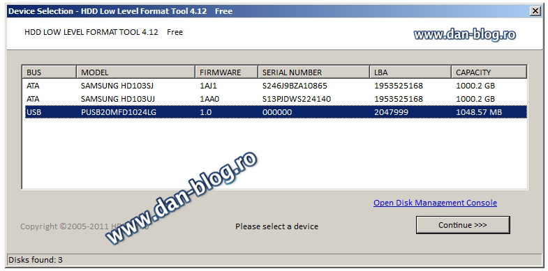 Download all HDD Low Level Format Tool software versions ...