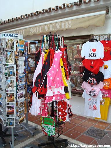 tienda de Souvenirs en Marbella