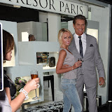 OIC - ENTSIMAGES.COM -  Hayley Roberts and David Hasselhoff  at the Tresor Paris - store launch party in London 16th June 2015  Photo Mobis Photos/OIC 0203 174 1069